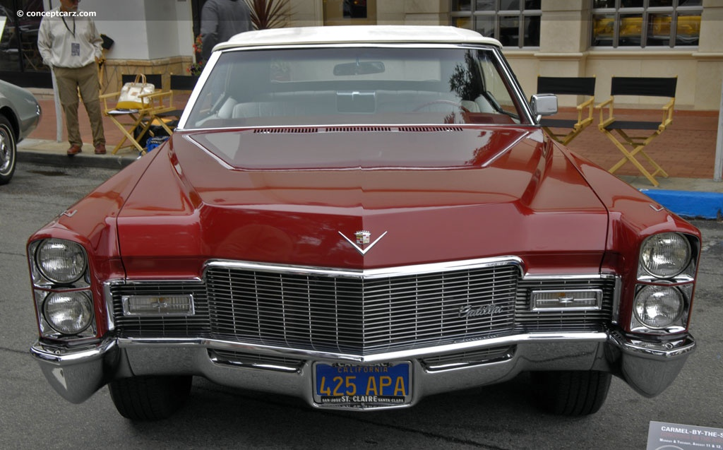 Auction results and data for 1968 Cadillac DeVille (Series 683 ...