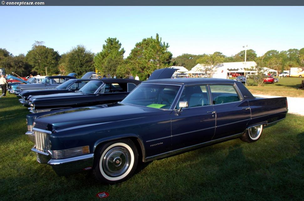 1970 Cadillac Fleetwood Sixty Special Conceptcarz