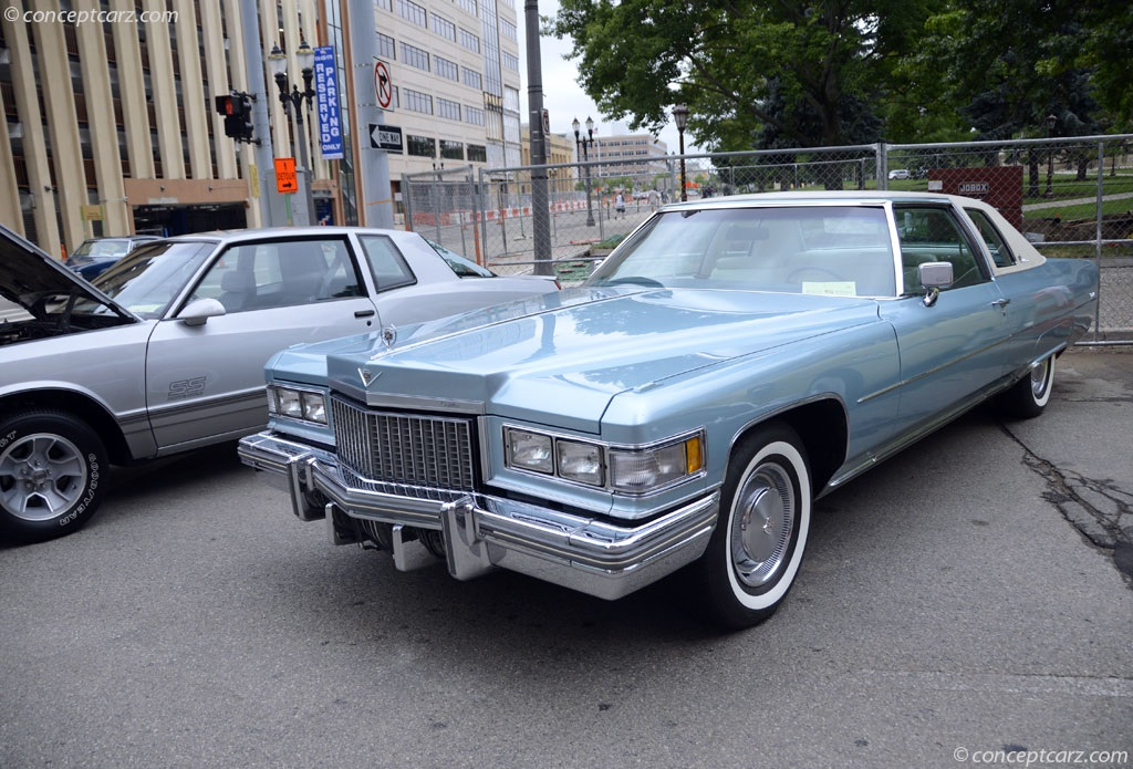 1974 Cadillac Eldorado In Houston Tx: Auction Results And Data For 1975 Cadillac DeVille
