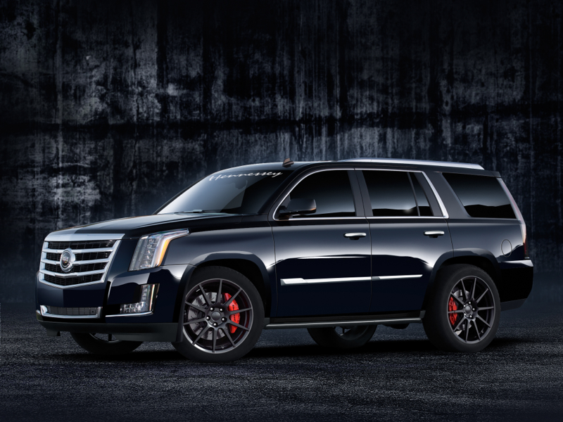 Cadillac Escalade HPE550 pictures and wallpaper