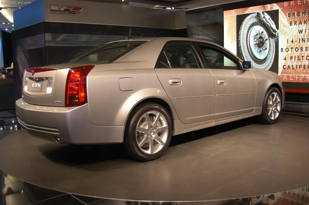 2004 cadillac cts v image. Black Bedroom Furniture Sets. Home Design Ideas