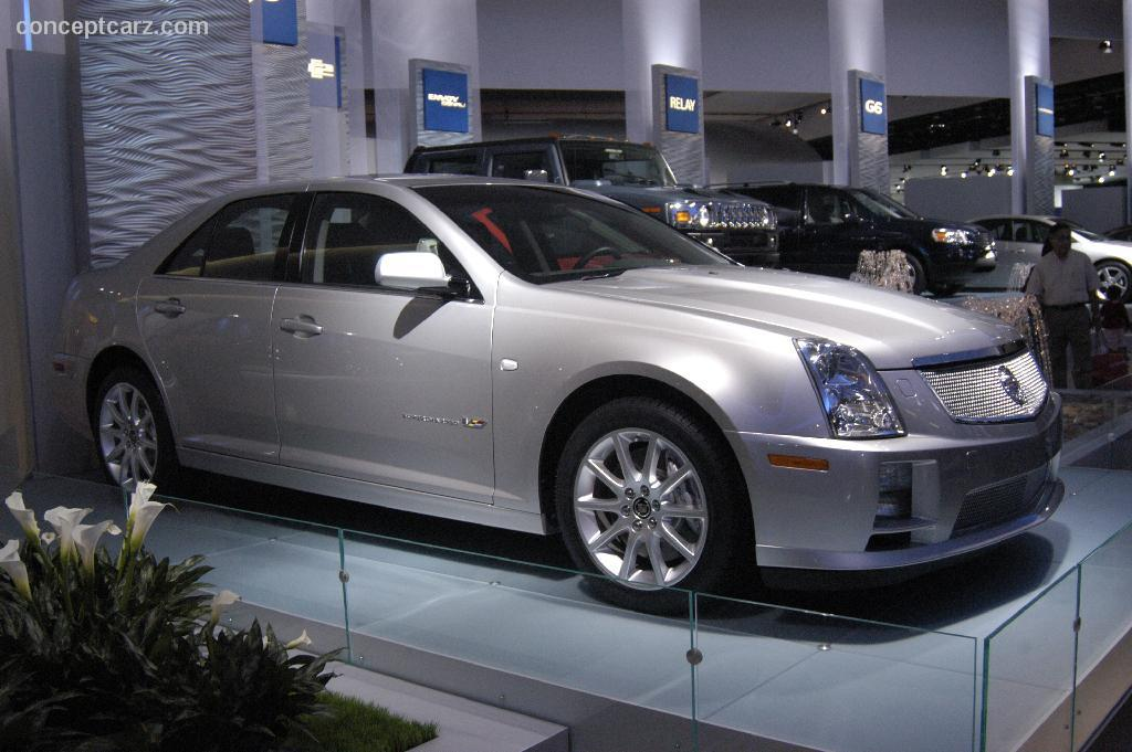 auction results and data for 2006 cadillac sts v. Black Bedroom Furniture Sets. Home Design Ideas