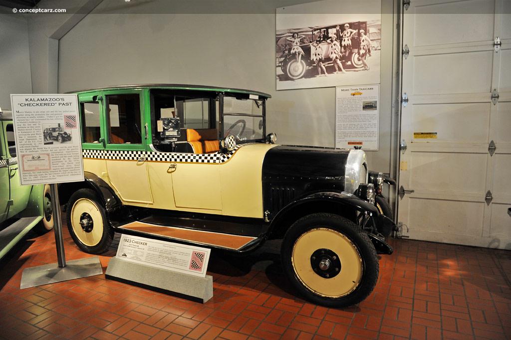 1923 Checker H 2 Conceptcarz Com