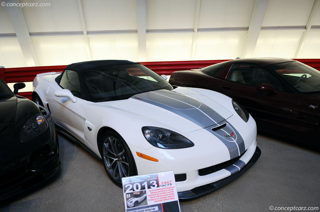 2013 Chevrolet Corvette 60th Anniversary Package Image