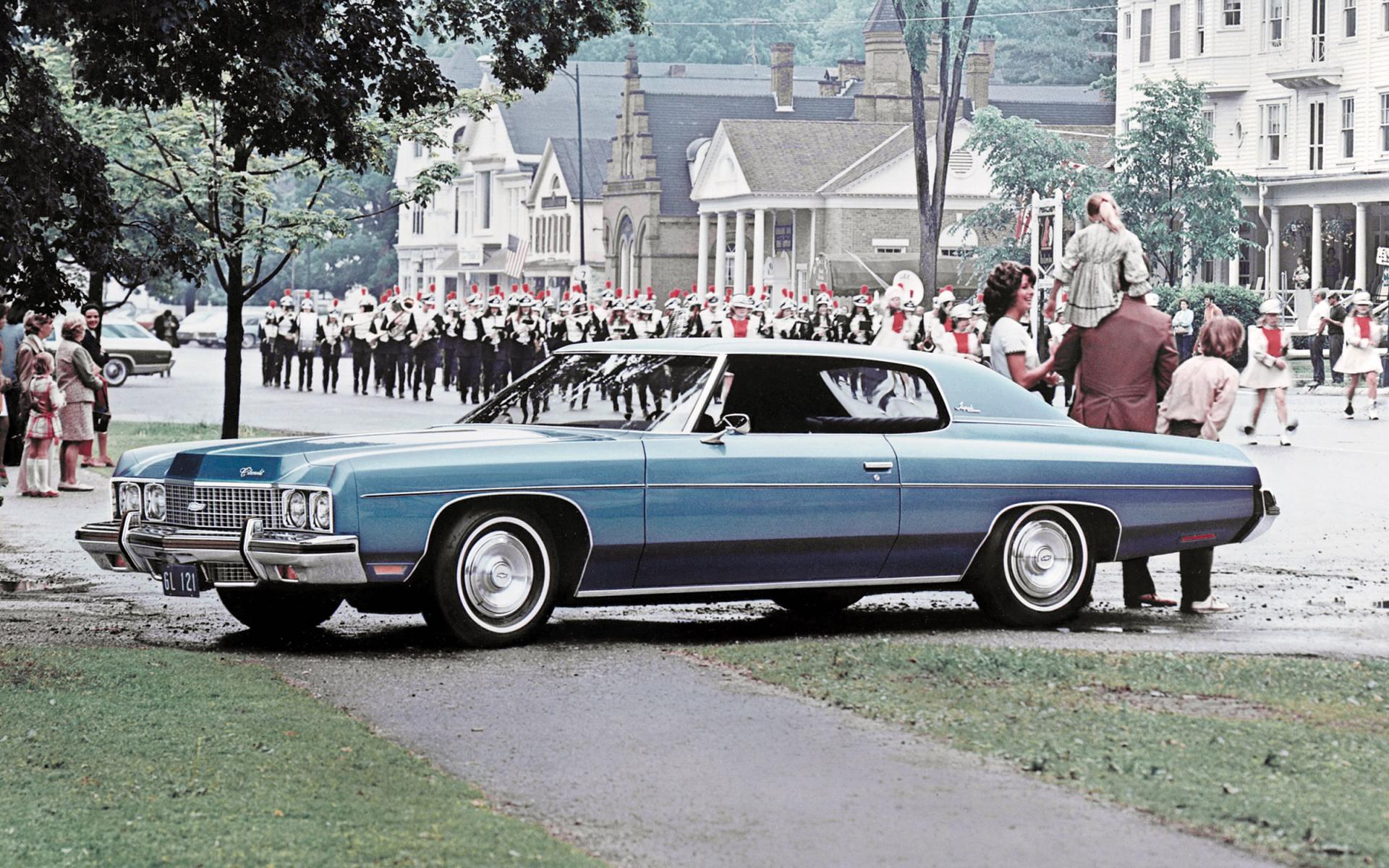 1973 Chevrolet Impala Pictures History Value Research