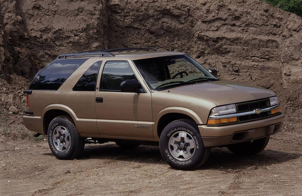 2001 Chevrolet Blazer Pictures History Value Research News