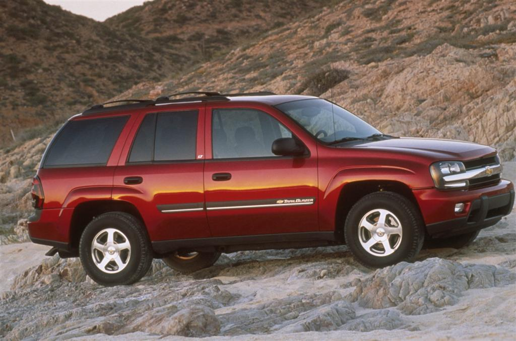 2001 Chevrolet TrailBlazer Pictures History Value Research