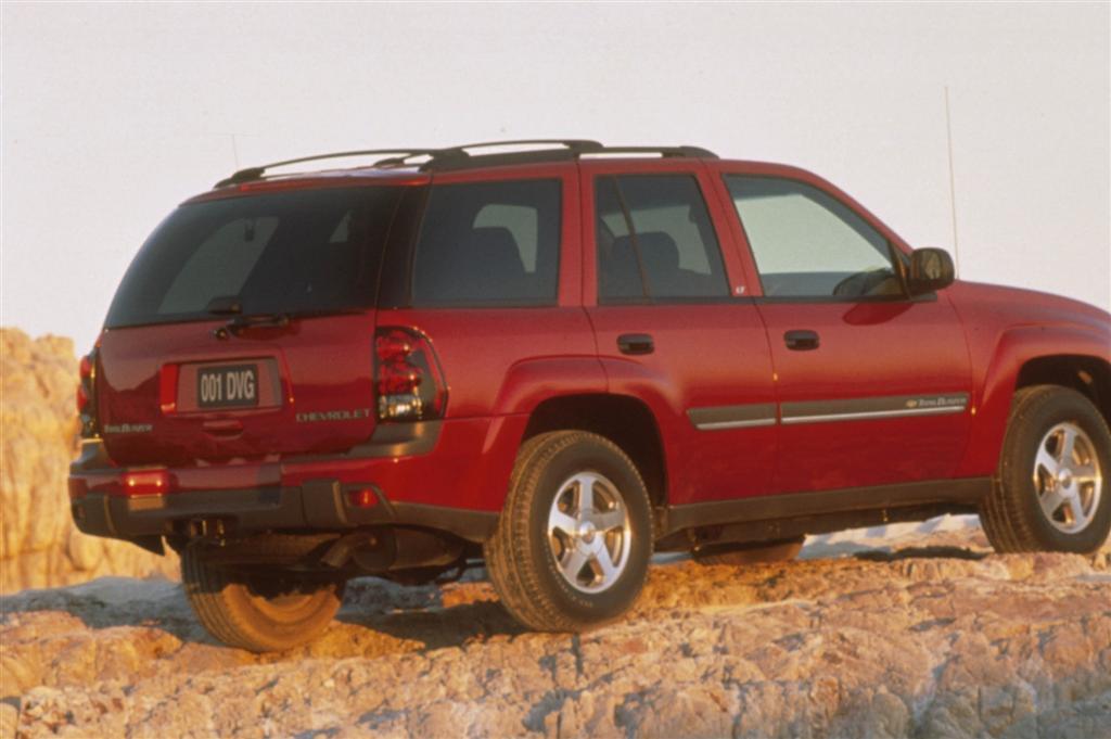 2001 Chevrolet TrailBlazer  conceptcarzcom