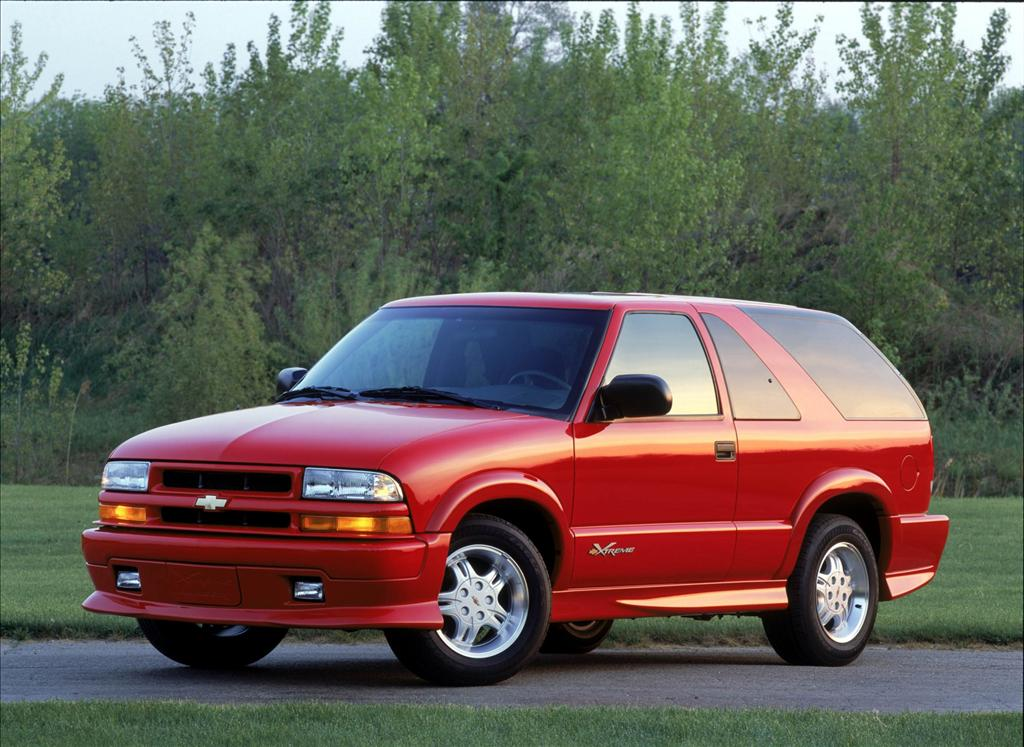 2002 Chevrolet Blazer Pictures History Value Research News