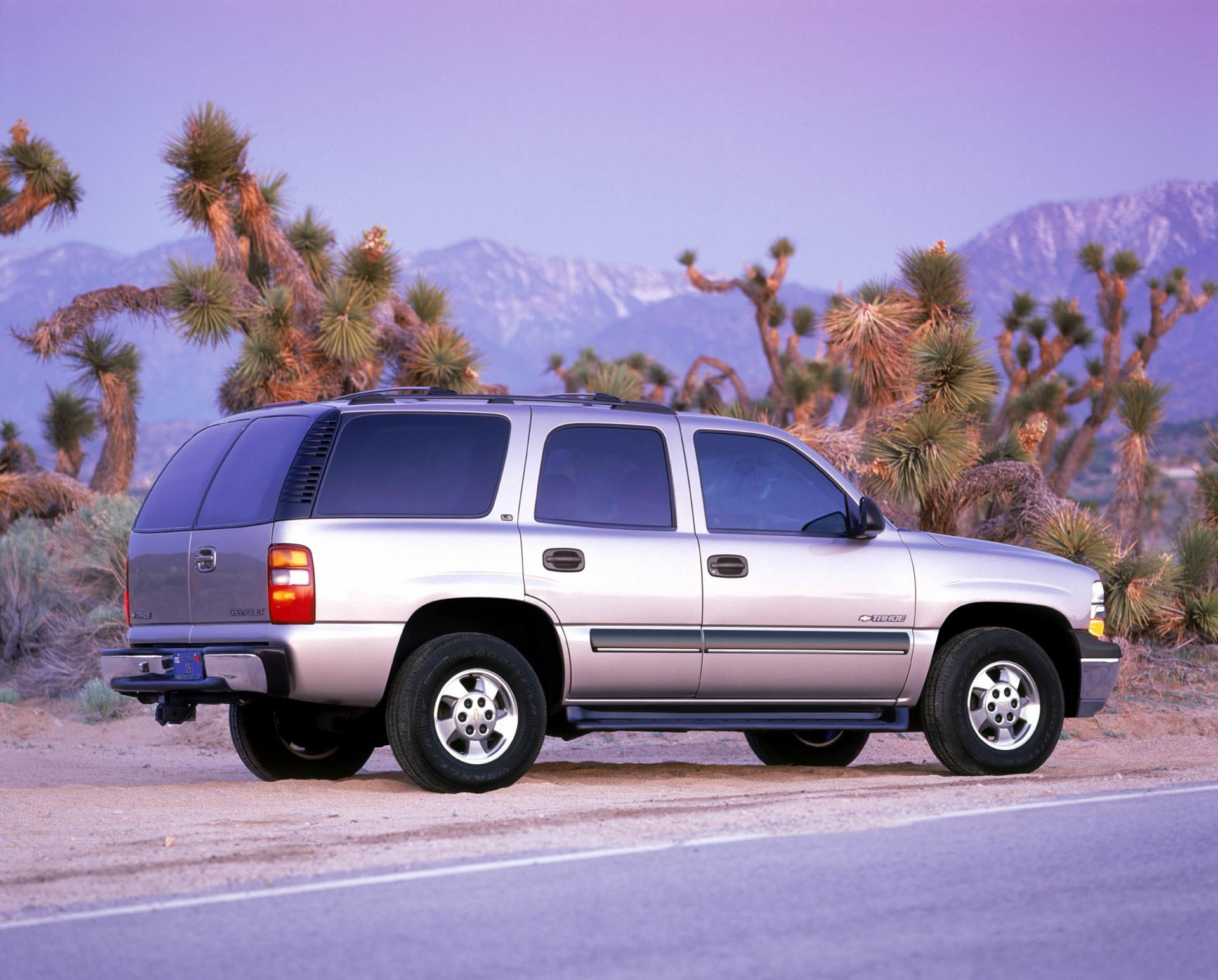 2002 Chevrolet Tahoe Pictures History Value Research