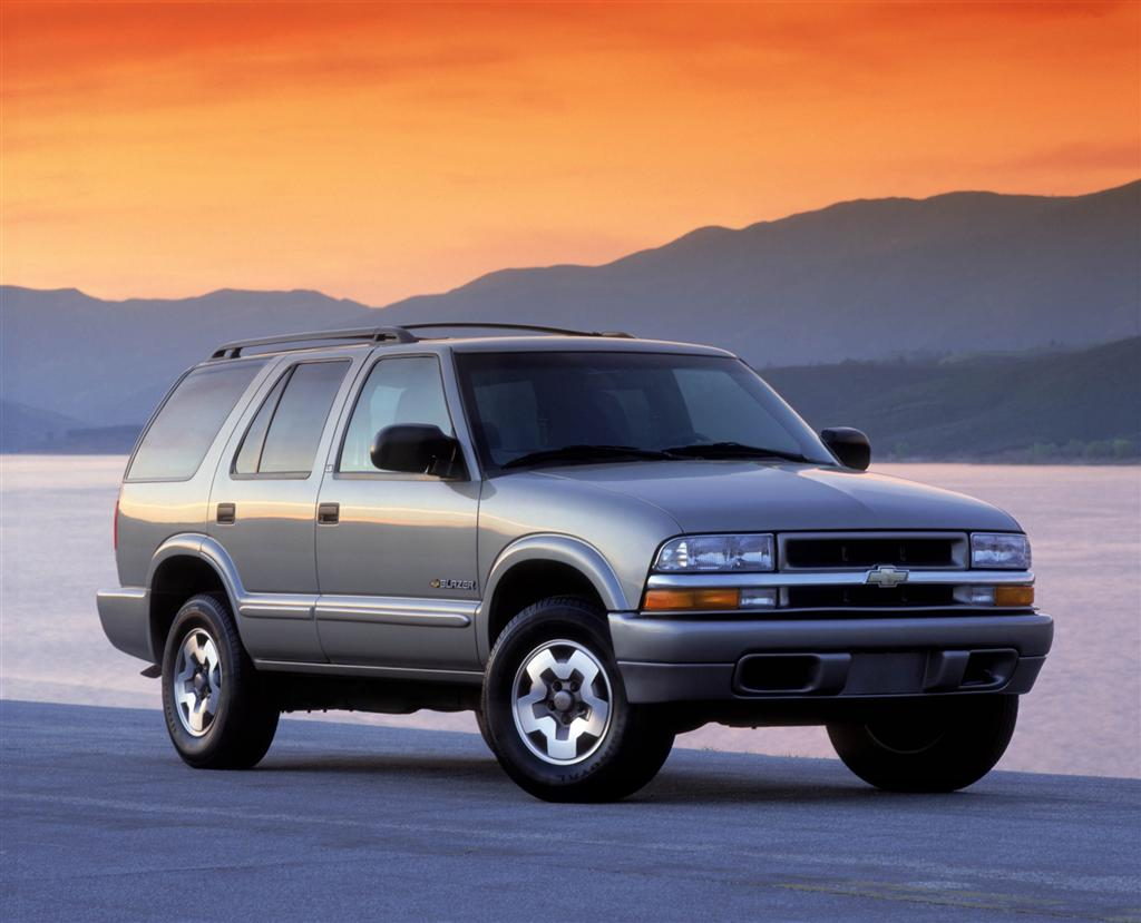 Auction results and data for 2004 Chevrolet Blazer - conceptcarz.com