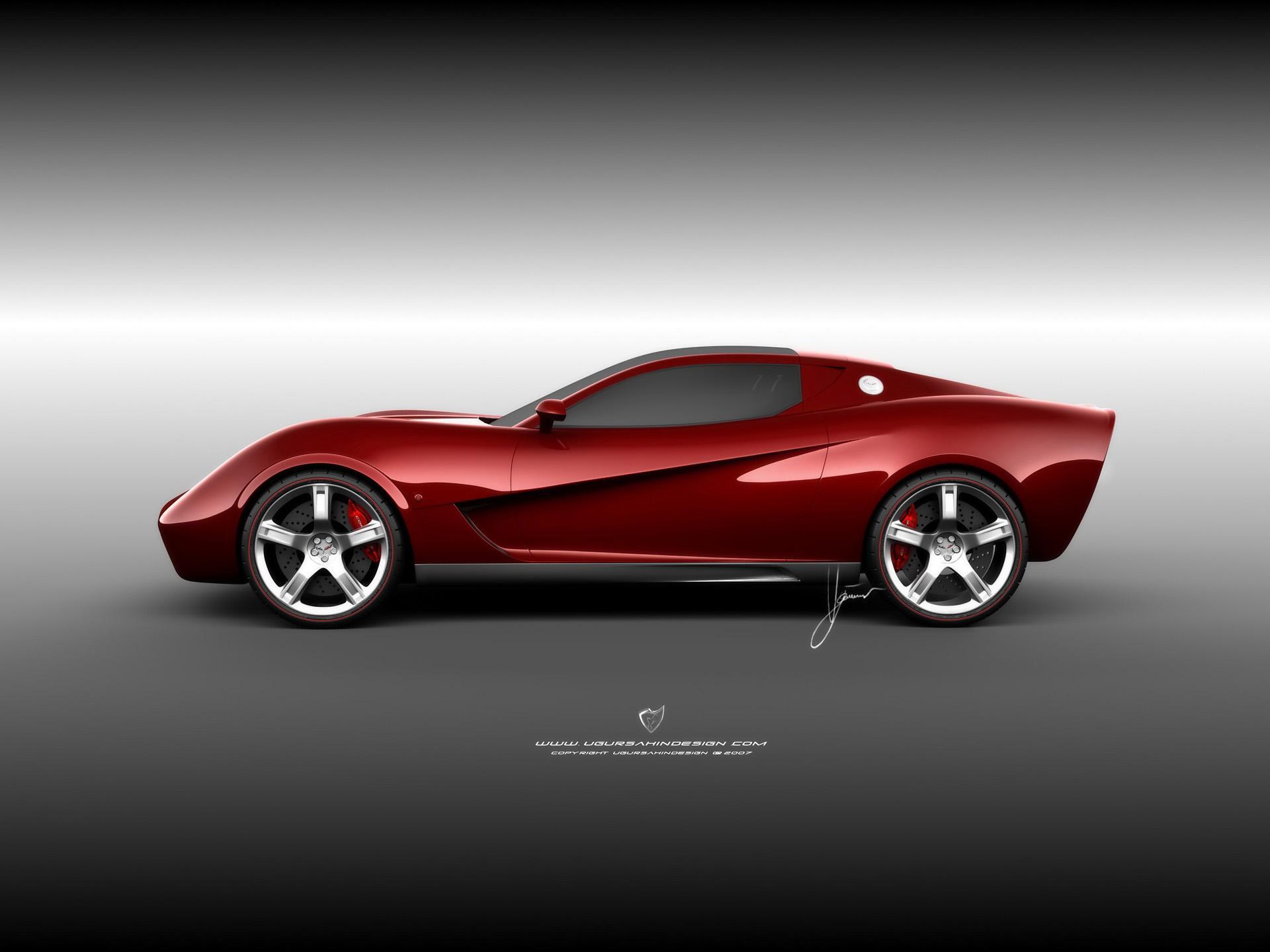 2009 ugur sahin corvette z03 concept. Black Bedroom Furniture Sets. Home Design Ideas