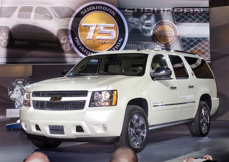 2010 Chevrolet Suburban 75th Anniversary Diamond Edition