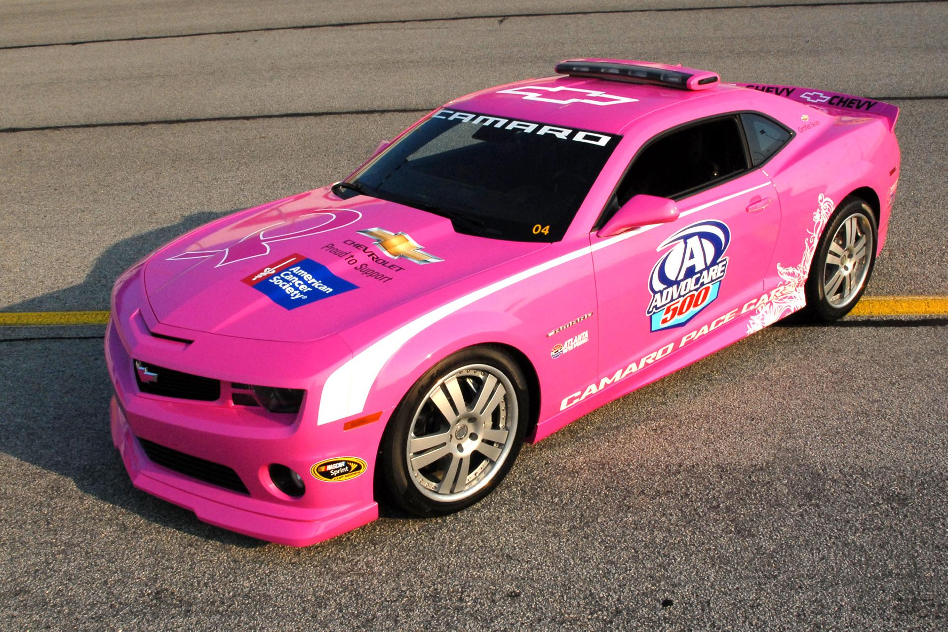 2012 chevrolet pink camaro pace car. Black Bedroom Furniture Sets. Home Design Ideas