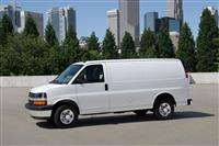 2013 Chevrolet Express Cargo Van image.