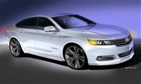 2014 Chevrolet Urban Cool Impala concept image.