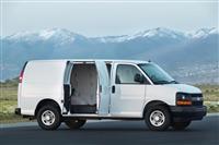 2015 Chevrolet Express Cargo Van image.