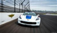 2017 Chevrolet Corvette Grand Sport Indy 500 Pace Car image.