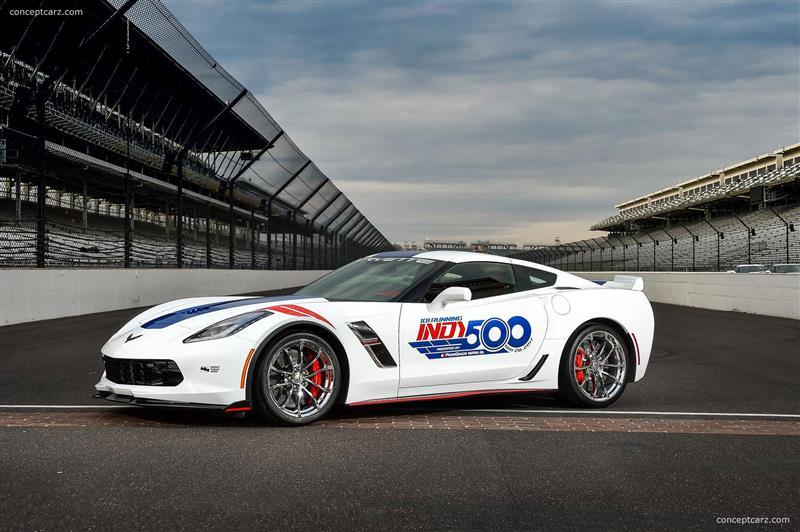 2017 Chevrolet Corvette Grand Sport Indy 500 Pace Car Image