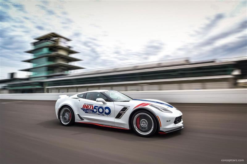 2017 Chevrolet Corvette Grand Sport Indy 500 Pace Car Image