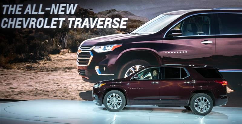 2018 Chevrolet Traverse Image