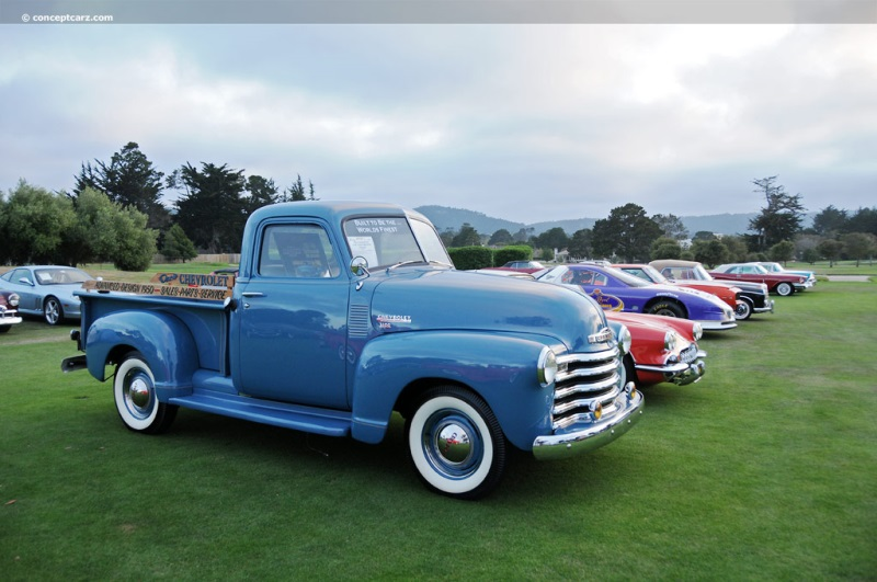 1950 Chevrolet 3100 Pickup Image Chassis Number 5gpj23870