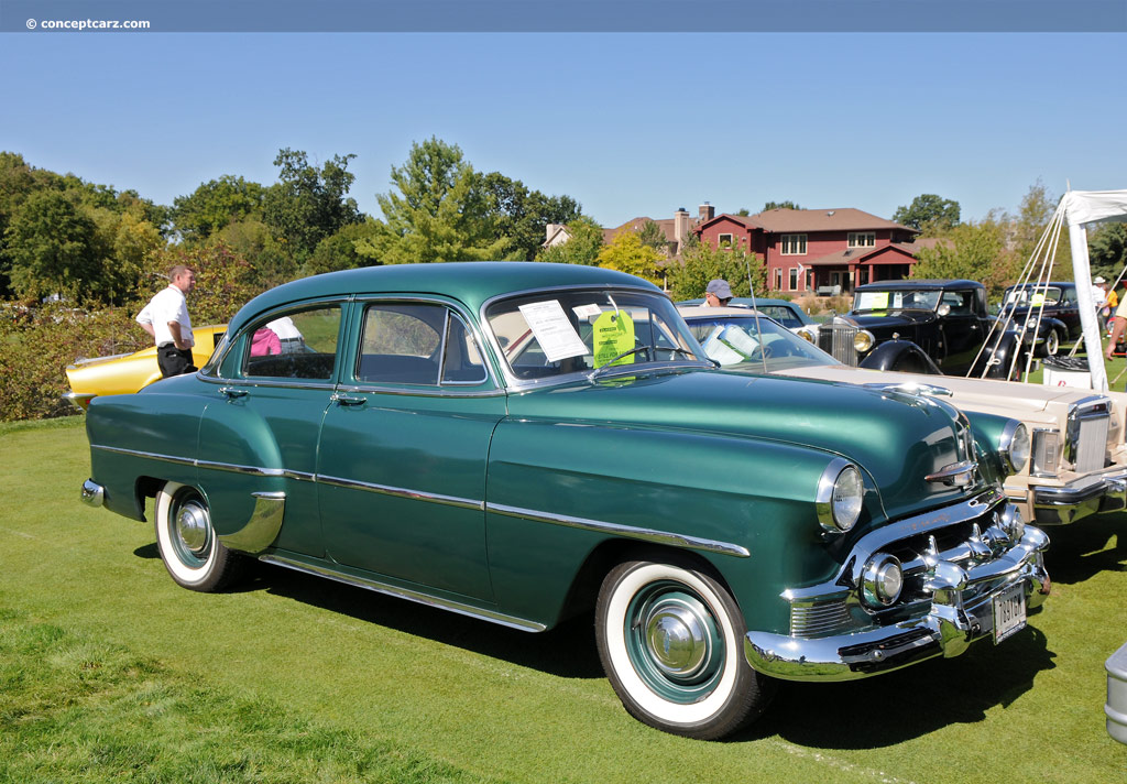 1953 chevrolet deluxe 210 series two ten 210 townsman for 1953 chevy 4 door