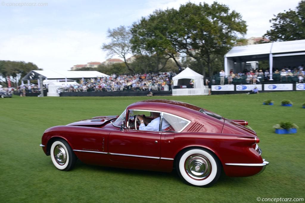 1954 Chevrolet Corvette Corvair Concept - conceptcarz.com