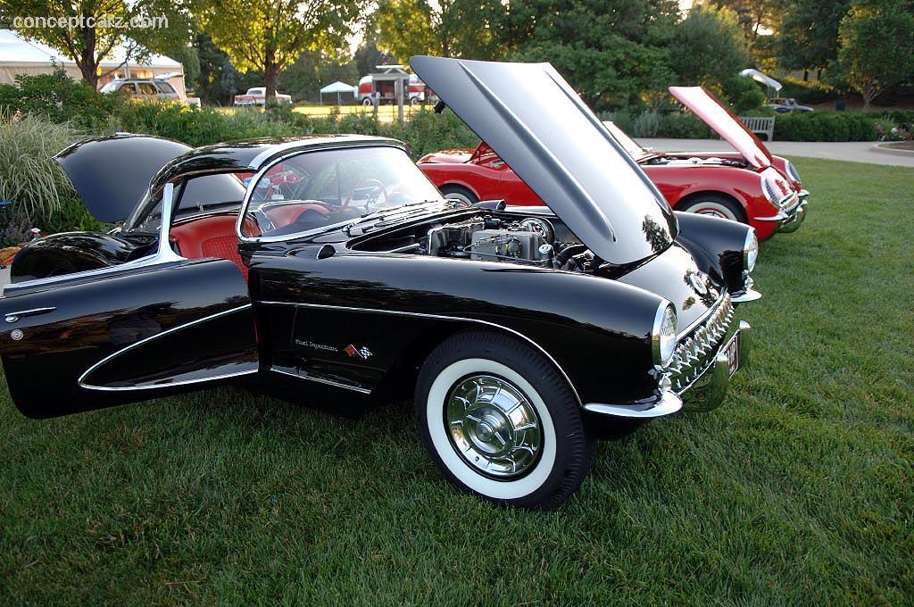 1957 chevrolet corvette c1 airbox conceptcarz. Black Bedroom Furniture Sets. Home Design Ideas