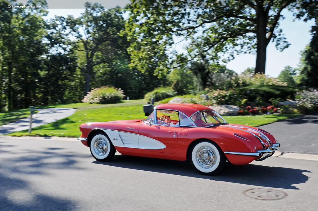 1958 chevrolet corvette c1. Black Bedroom Furniture Sets. Home Design Ideas