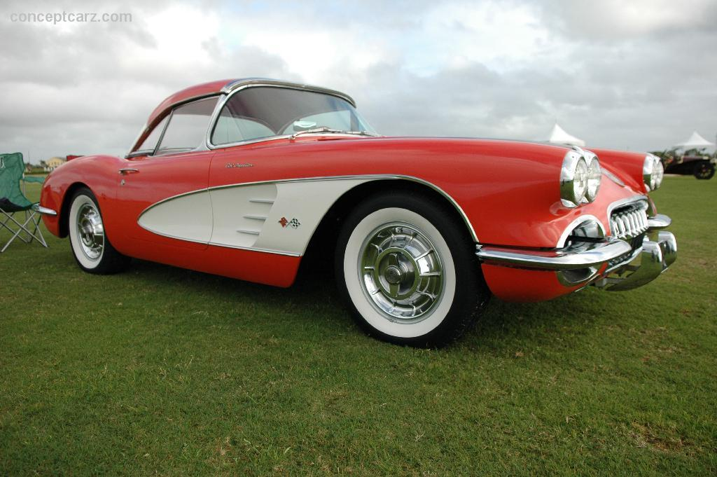 1961 Corvette For Sale >> Auction results and data for 1958 Chevrolet Corvette C1 - conceptcarz.com