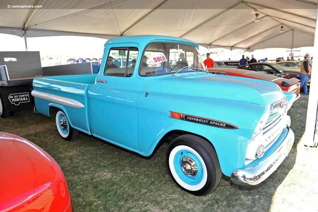 1959 Chevrolet Apache (3100 Apache, Fleetside Deluxe ...