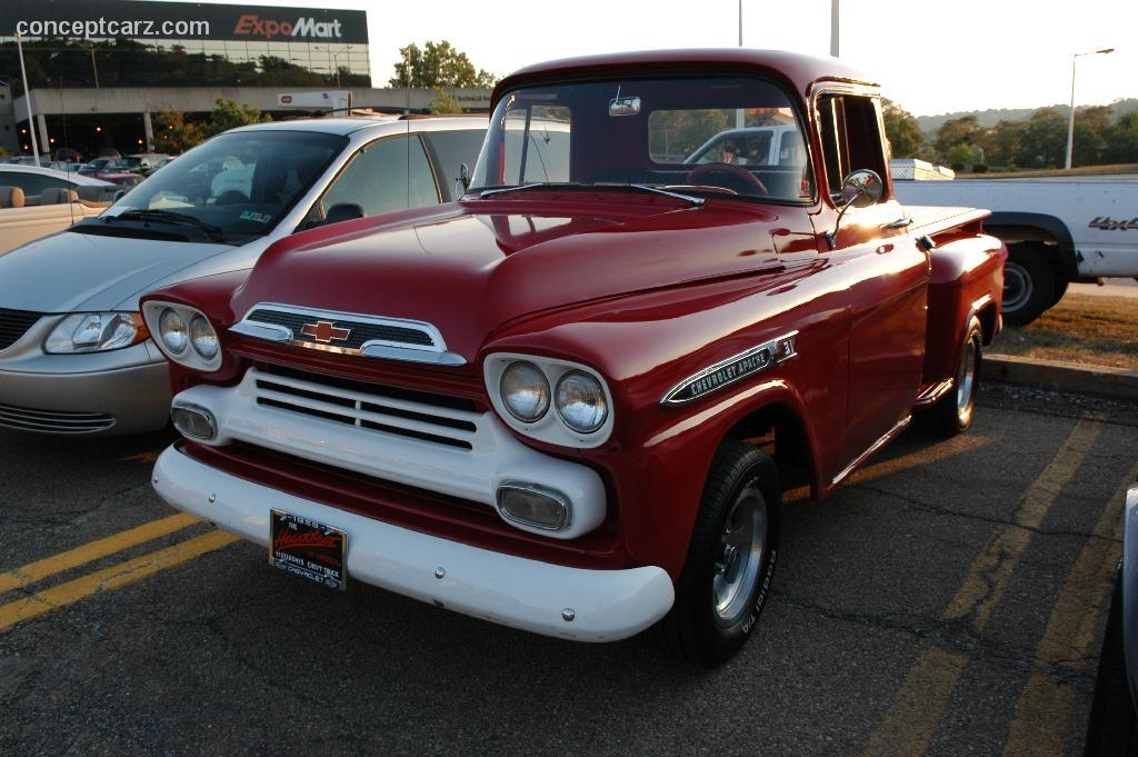1959 Chevrolet Apache Pictures, History, Value, Research ...