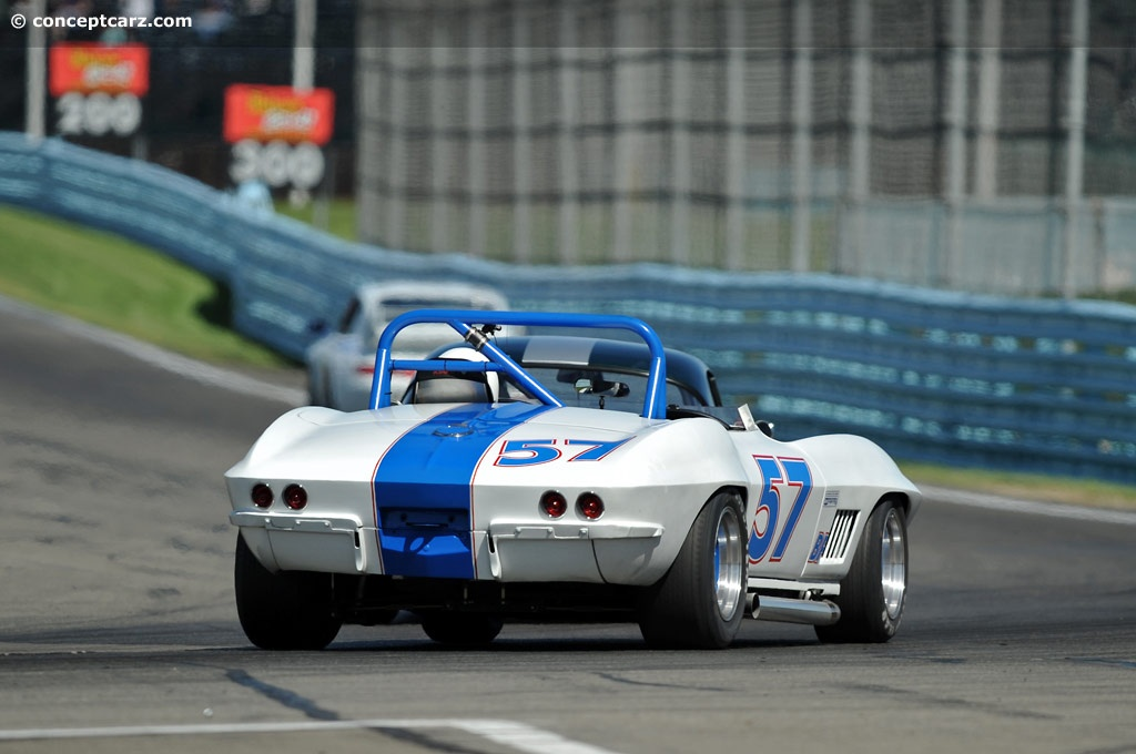 : The images shown are representations of the 1963 Chevrolet Corvette