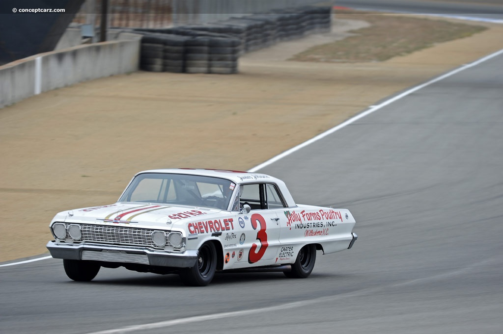 1963 Chevrolet Impala Nascar At The Rolex Monterey