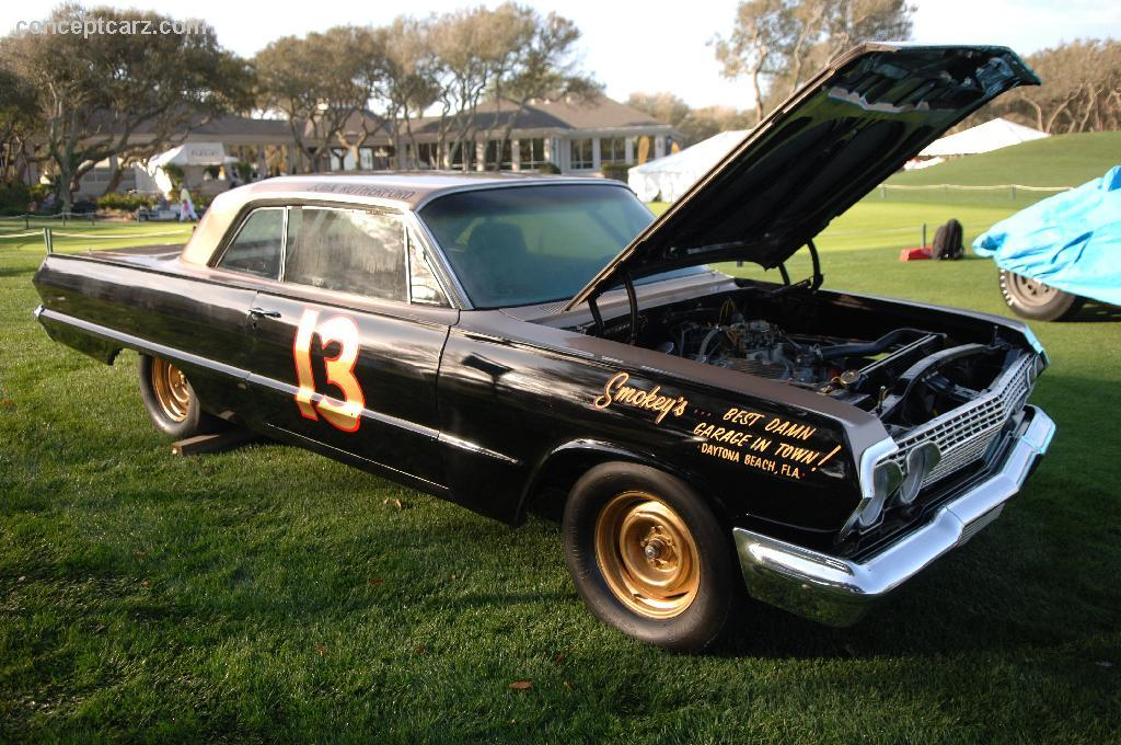 Auction results and data for 1963 Chevrolet Impala NASCAR ...