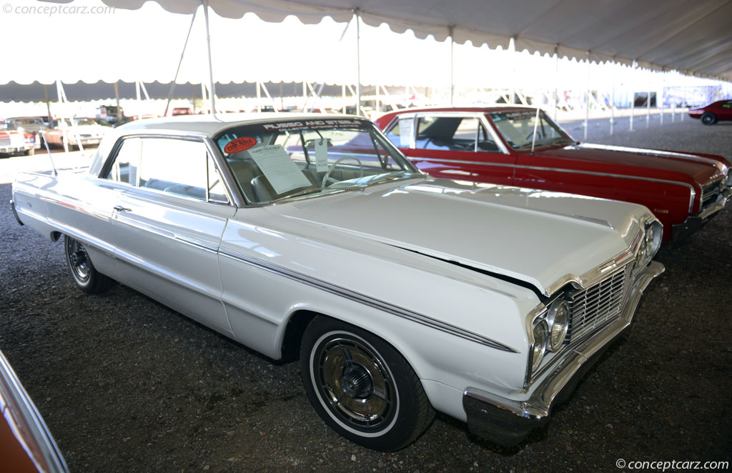 1964 Chevrolet Impala Series auction sales and data.