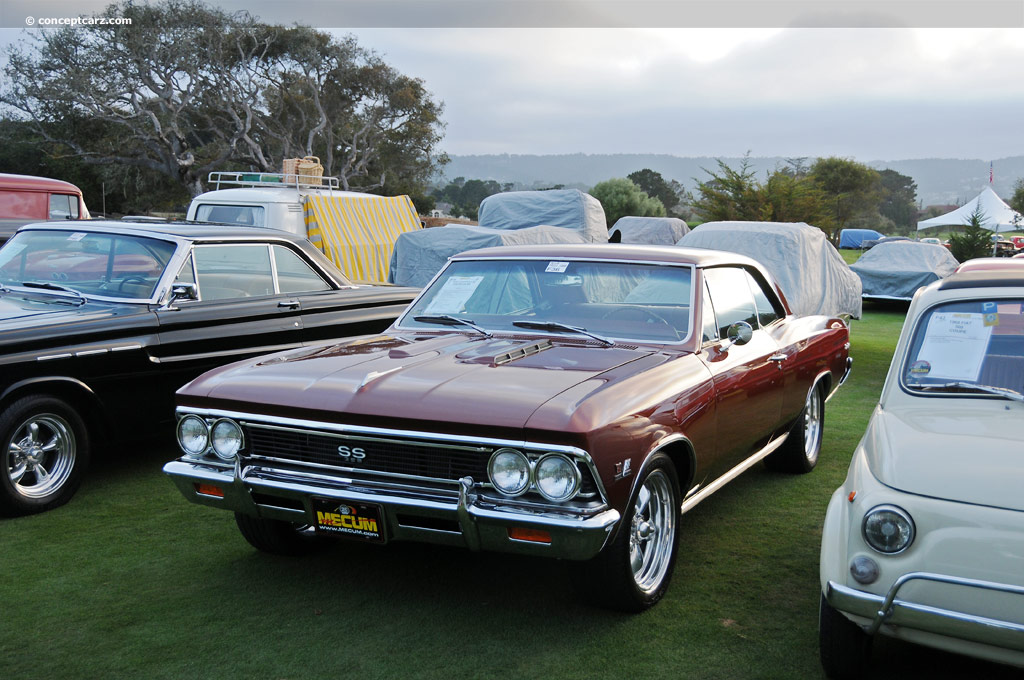 Auction results and data for 1966 Chevrolet Chevelle SS (SS-396 ...