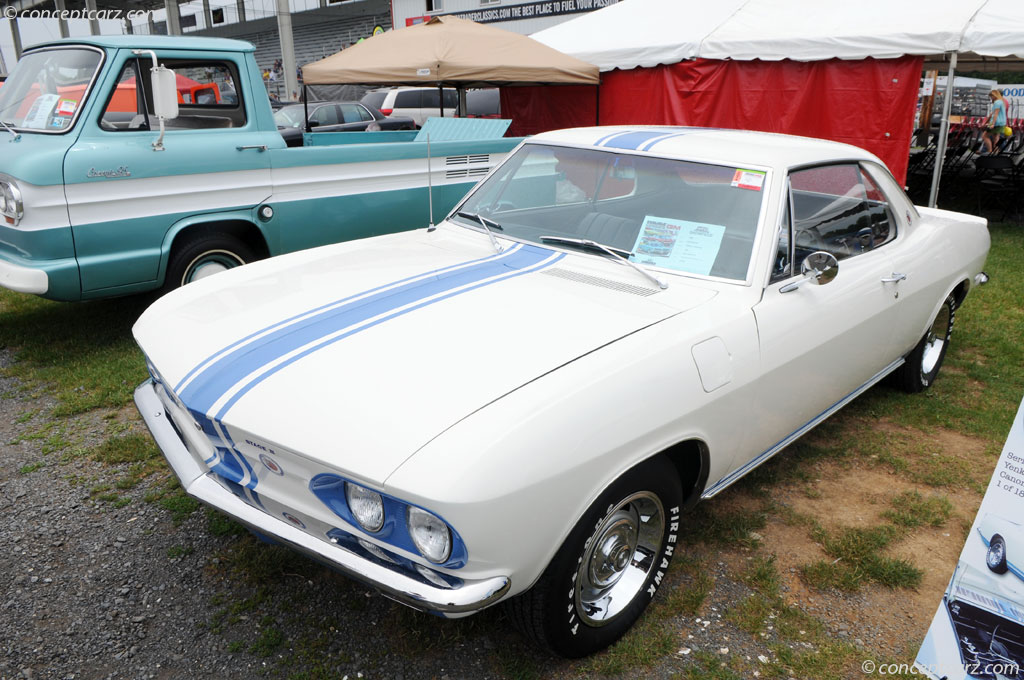 1966 Chevrolet Corvair Yenko Stinger at the GM Nationals