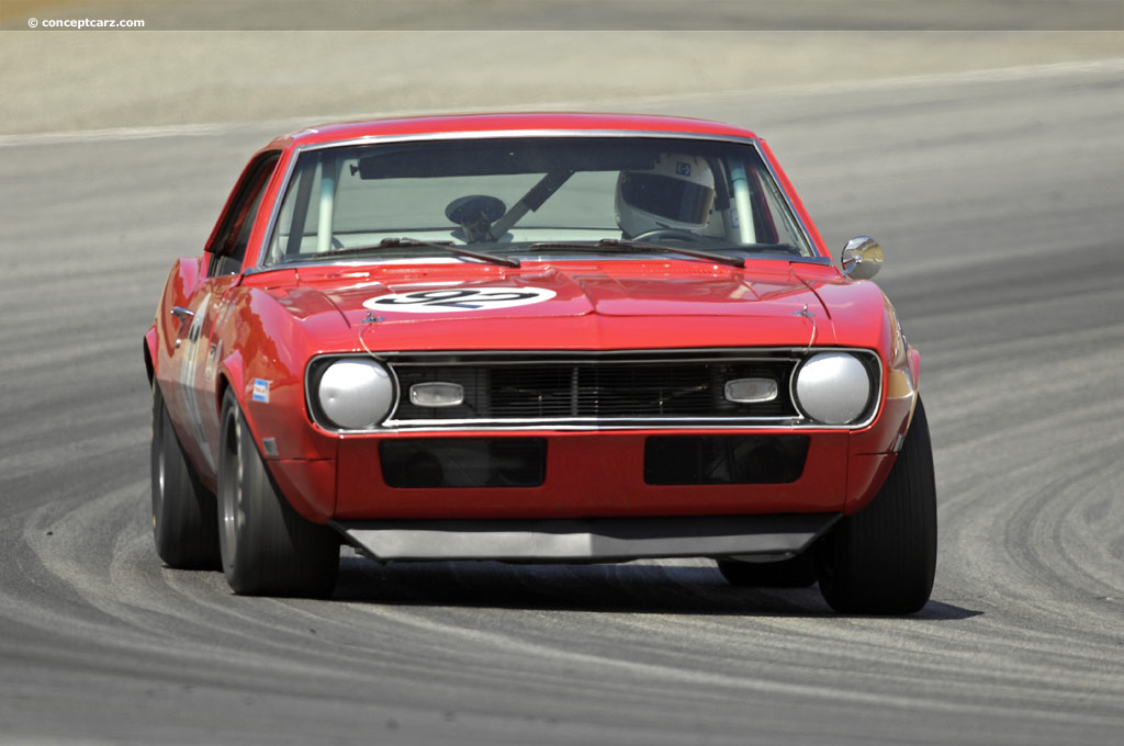 Auction results and data for 1968 Chevrolet Camaro Z28