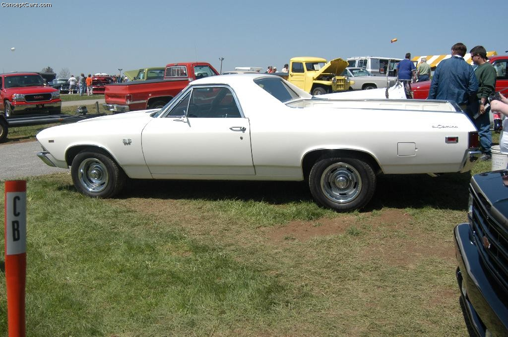 Auction results and data for 1969 chevrolet el camino conceptcarz