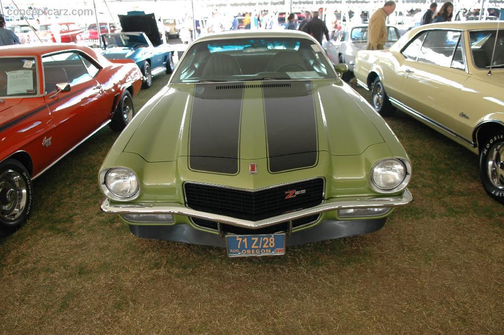 1971 Chevrolet Camaro Series Image