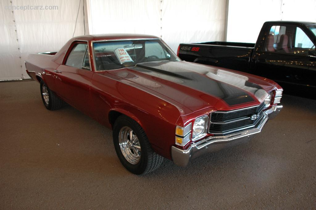 auction results and data for 1971 chevrolet el camino. Black Bedroom Furniture Sets. Home Design Ideas