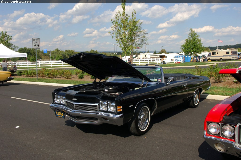 1972 Chevy Impala Convertible For Sale