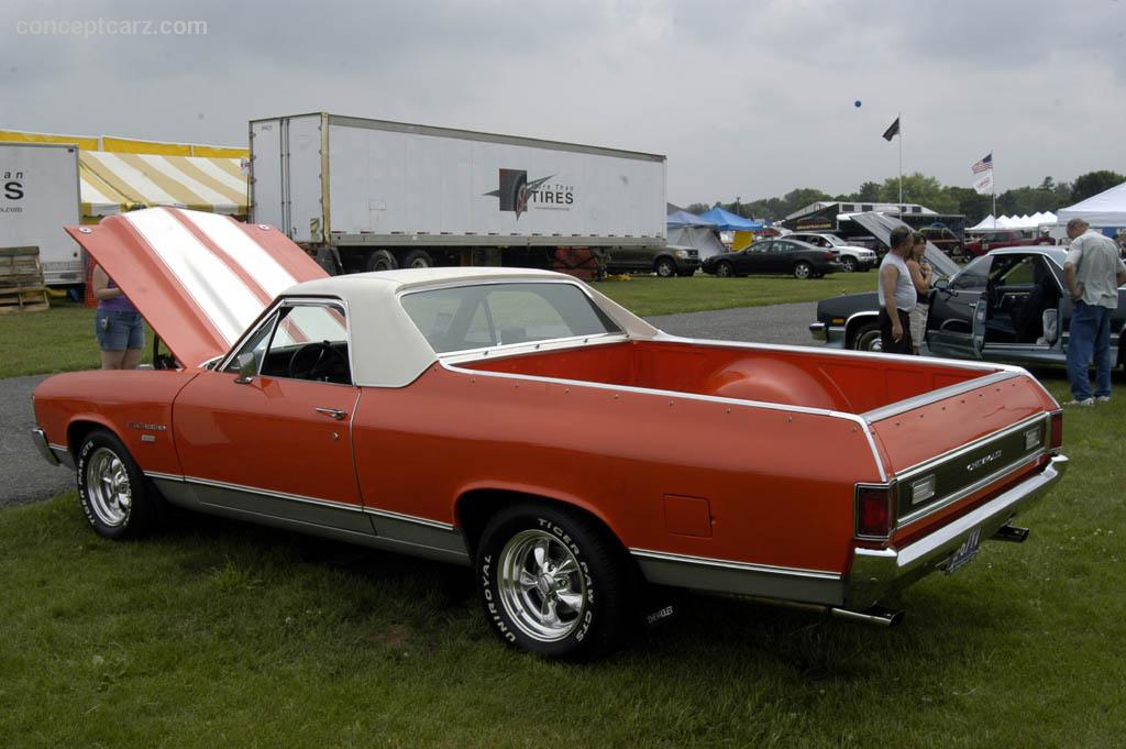 auction results and data for 1972 chevrolet el camino. Black Bedroom Furniture Sets. Home Design Ideas