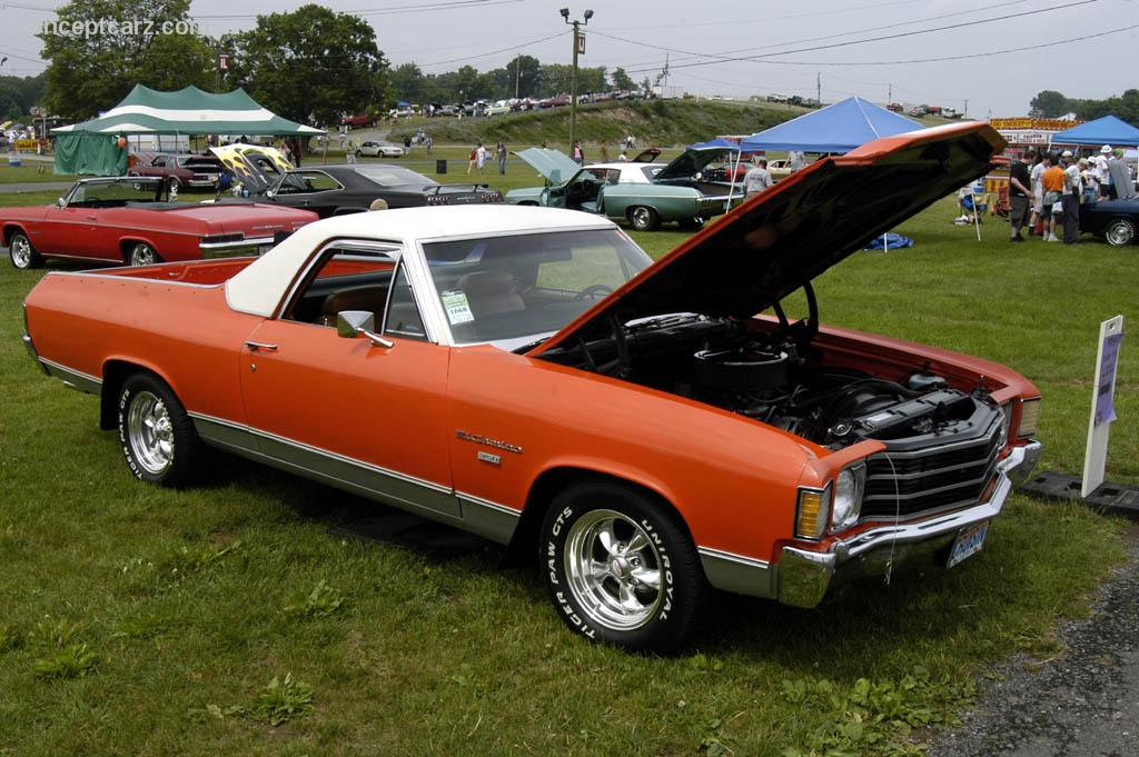 1972 chevrolet el camino pictures history value. Black Bedroom Furniture Sets. Home Design Ideas