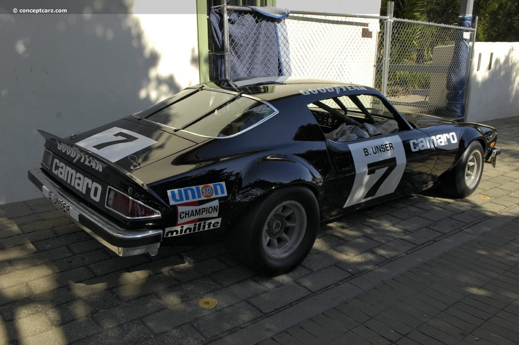 1974 Chevrolet Camaro IROC Race Car Image