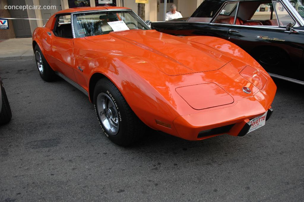 Image Gallery 1978 Corvette Orange