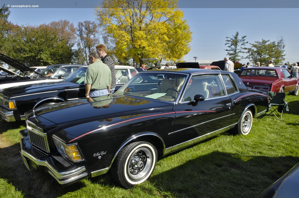 1979 Chevrolet Monte Carlo Technical Specifications and data ...