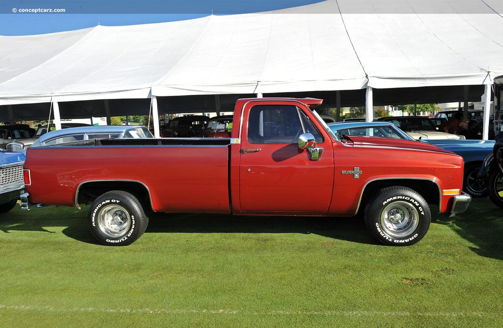 1981 Chevrolet C10 Silverado Pictures History Value